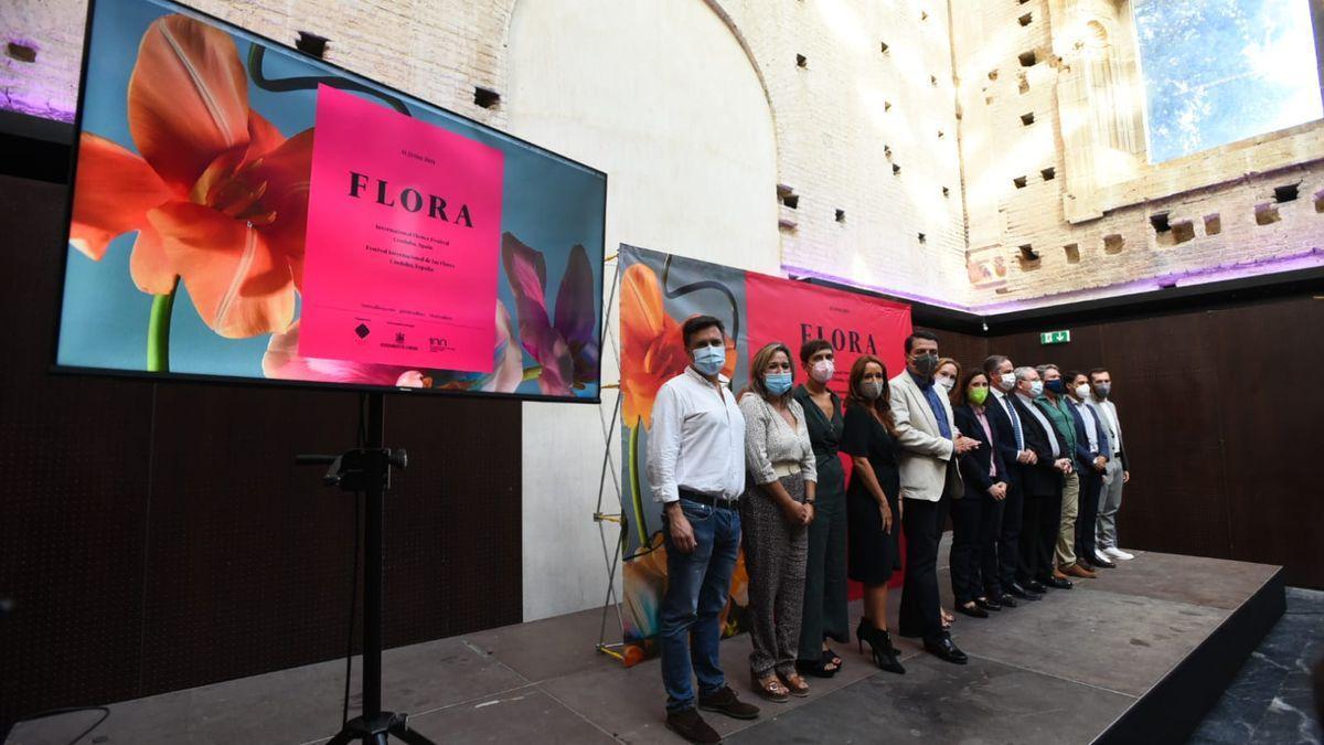 Presentación de Flora 2021, este lunes en la Sala Orive.