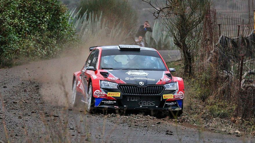 El Rally Islas Canarias empieza en Guía con el tramo de clasificación