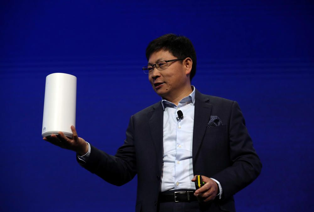 Richard Yu, CEO of the Huawei Consumer Business ...