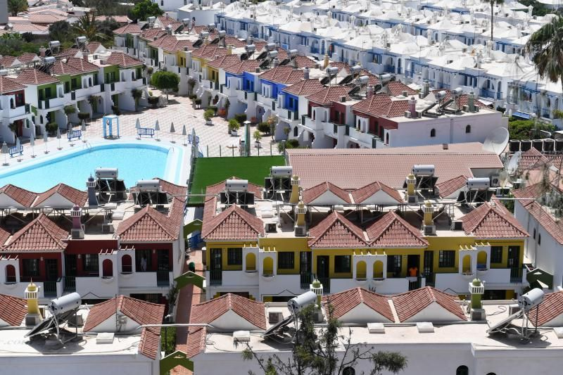 Un total de 265 inmigrantes son alojados en apartamentos vacíos del Sur