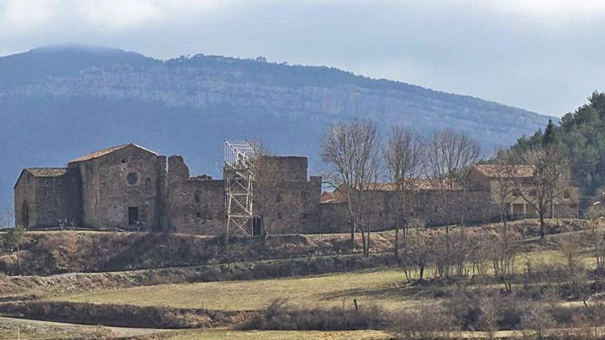 La Pobla de Lillet vol obrir al públic el conjunt del monestir de Santa Maria