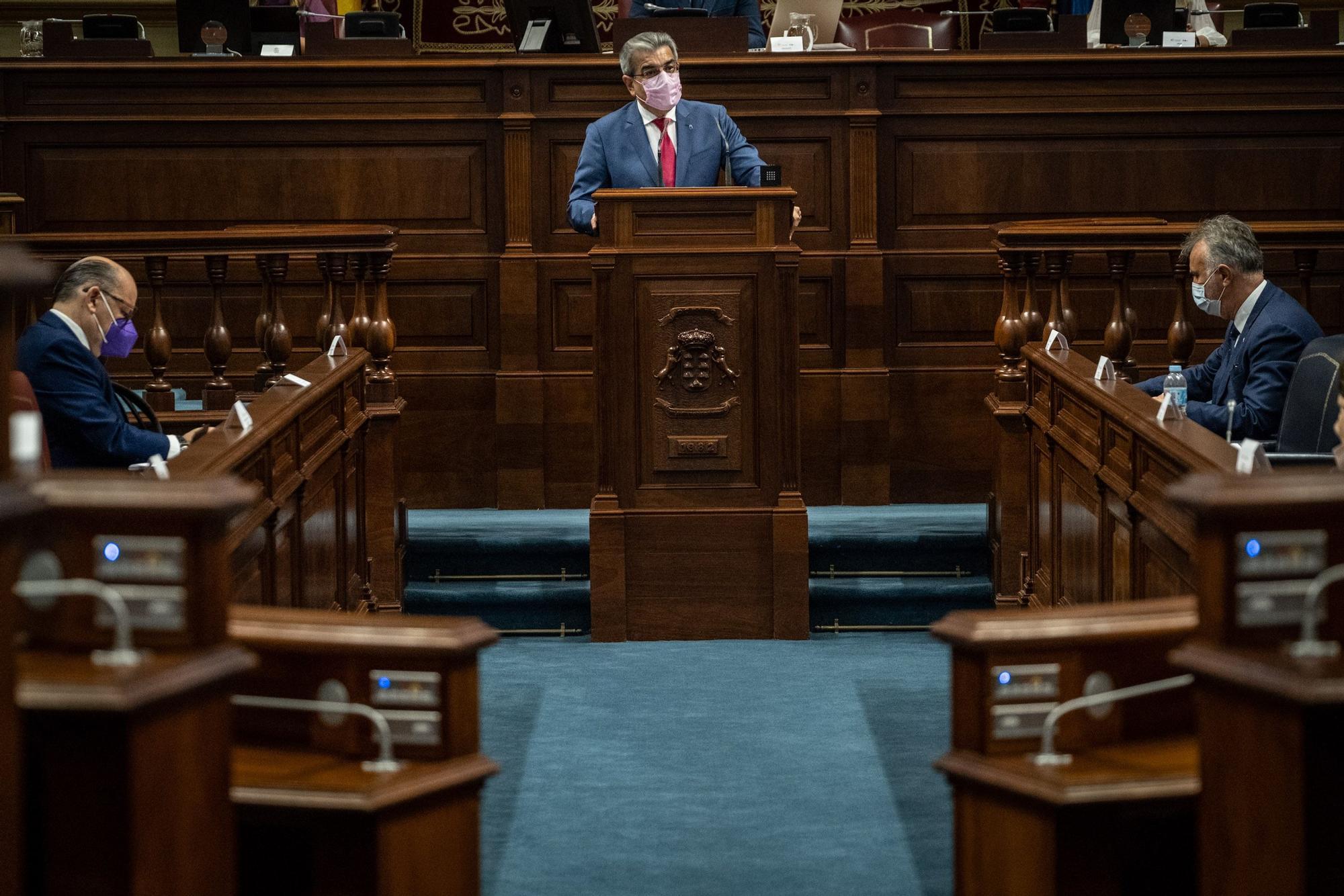 Pleno del Parlamento - Presupuestos 2021