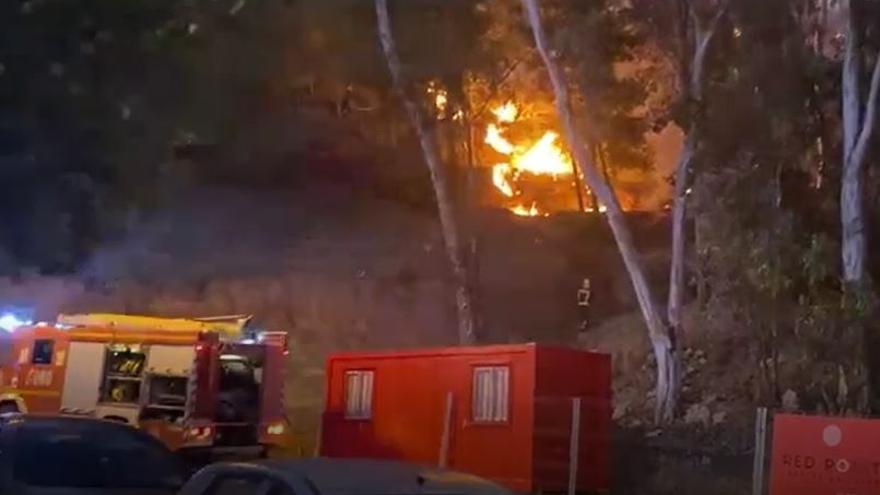 Extinguido el incendio de Cerrado de Calderón