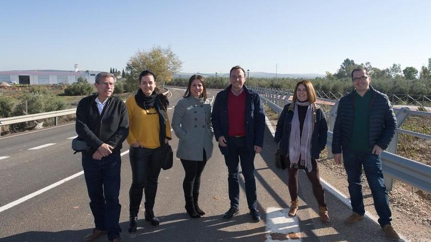 La Diputación mejora el ramal de acceso a Algallarín desde Adamuz