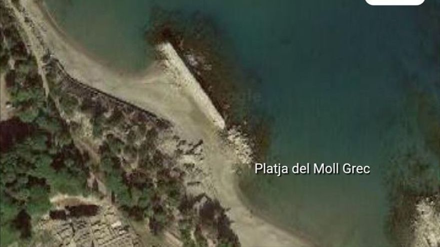 Ofegament mortal en una platja de l'Escala