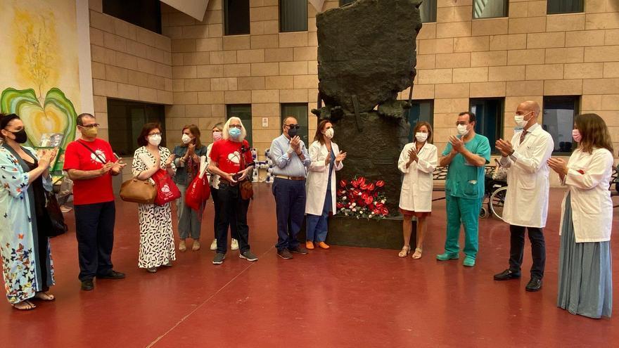 El hospital Reina Sofía recupera las cifras de donación y trasplante previas al covid