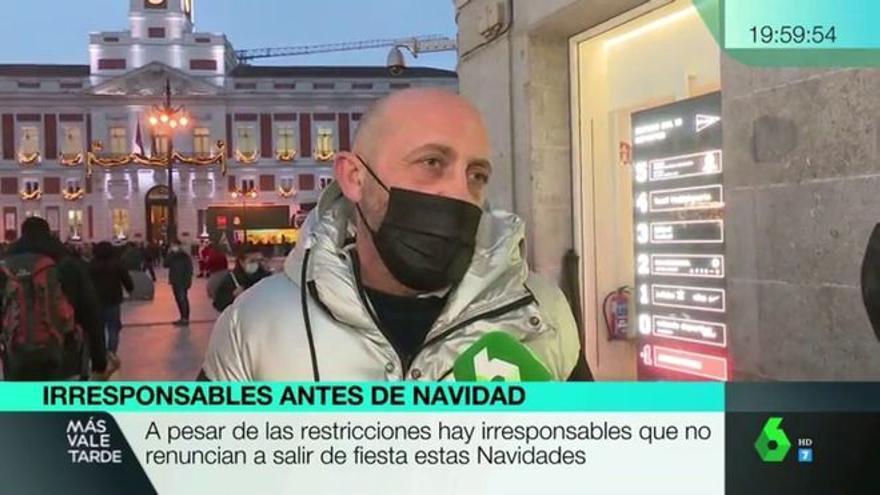 """Un ciudadano cabrea a los espectadores de La Sexta: """"habría que meterle en la cárcel"""""""