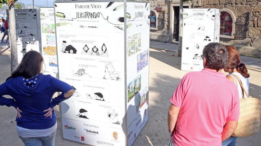 Las viñetas de Davila y Gogue llegan mañana a Gondomar