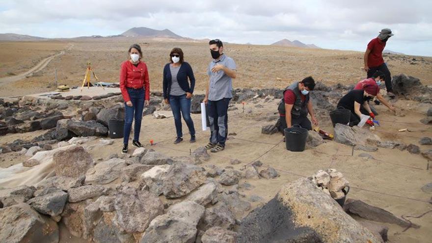 El yacimiento arqueológico de Fiquinineo recibe visitas los viernes hasta el 21 de mayo