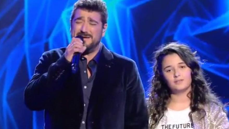 Rocío Aguilar, ganadora de la última edición de 'La Voz Kids'