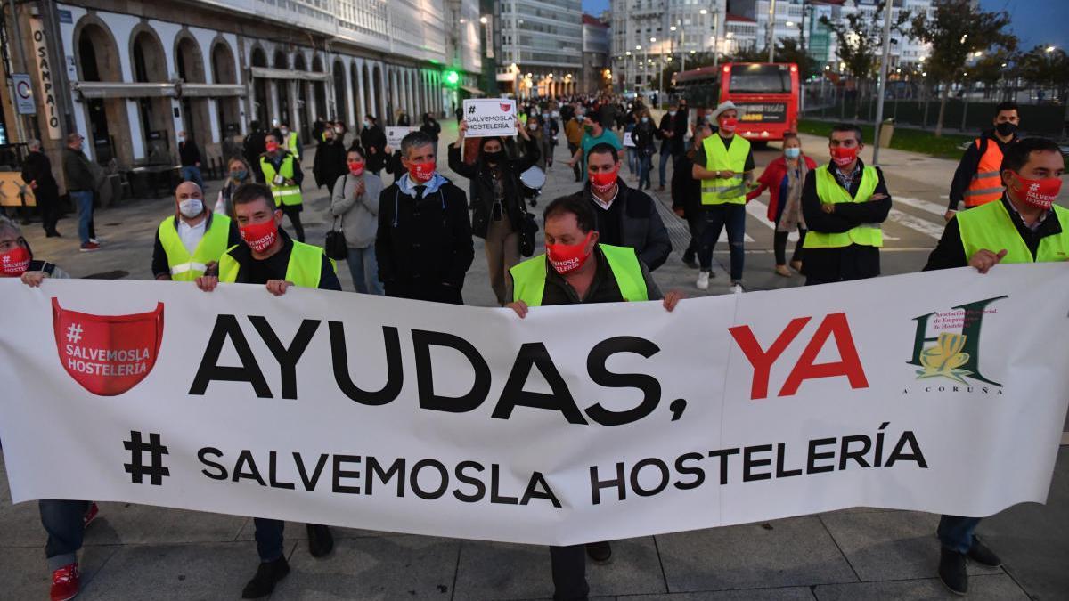 La Diputación aporta 1,2 millones al plan de ayudas al comercio y la hostelería de A Coruña