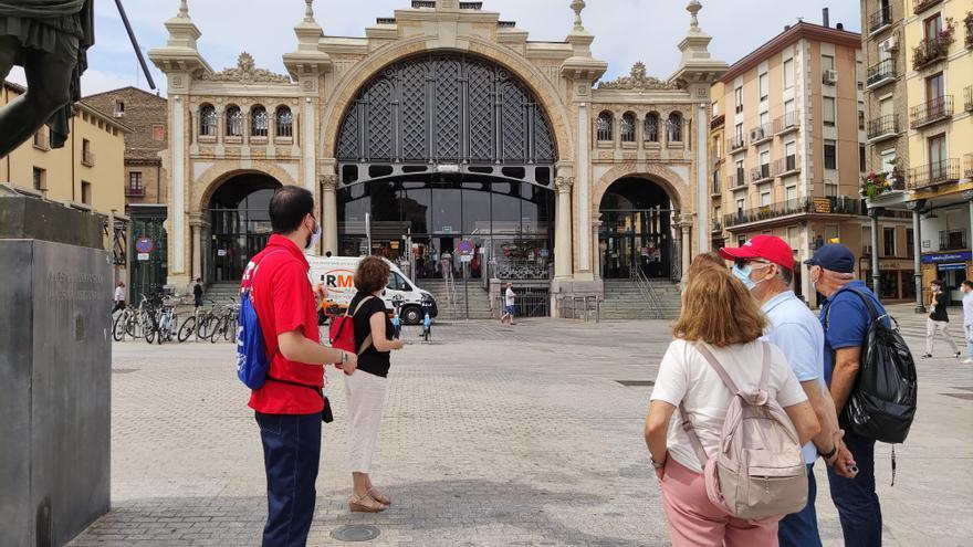 Diferentes enclaves de la ruta por el Casco Histórico de Zaragoza