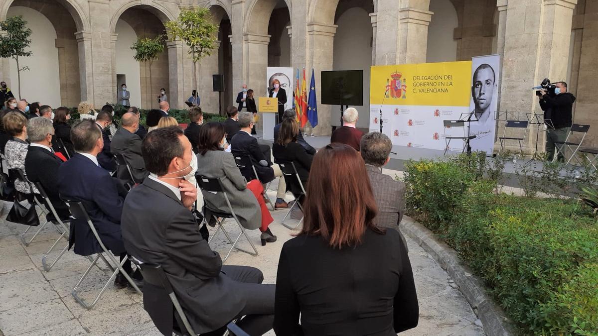Acto en homenaje a Miguel Hernández en Valencia