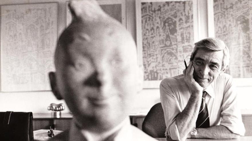El universo de Tintín ocupa la Biblioteca Insular