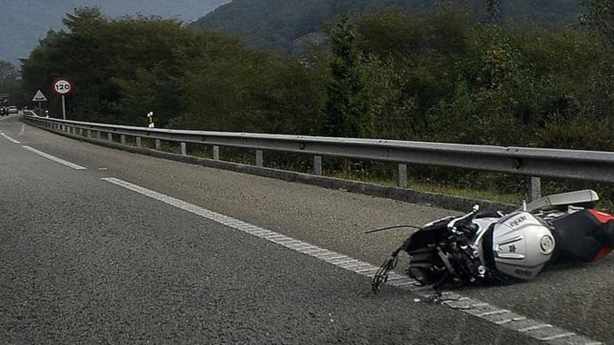 Suspendida una concentración motera en señal de duelo por el motorista fallecido en la Minera