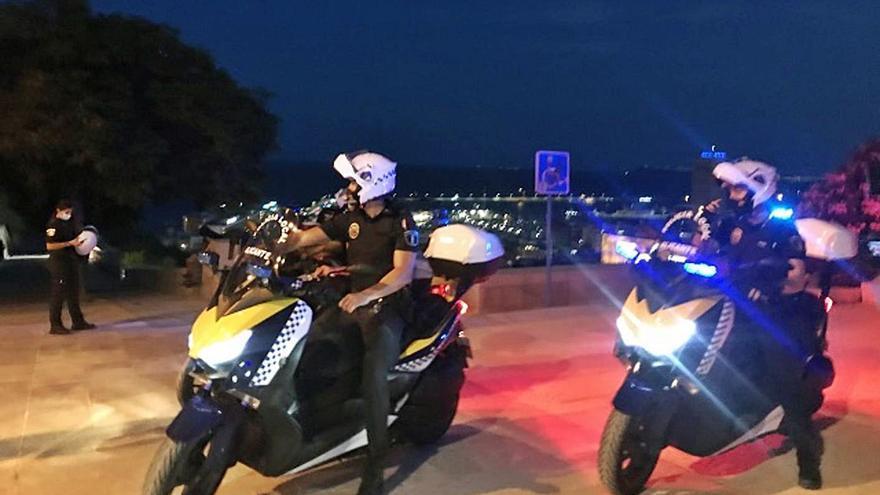 La Policía detecta un aumento de fiestas en pisos y un descenso del botellón con el toque de queda
