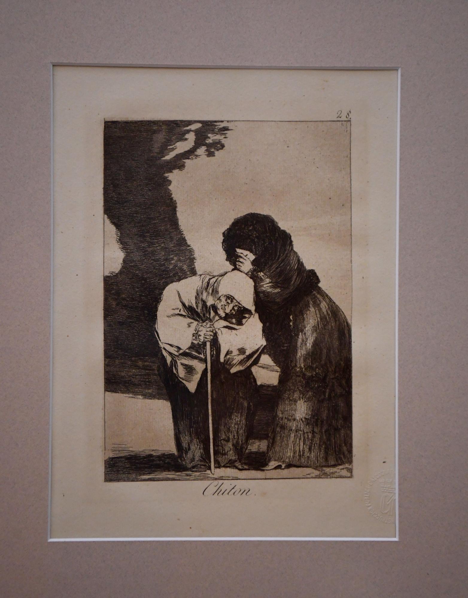 Sala dedicada a Goya en el Museo de Belas Artes