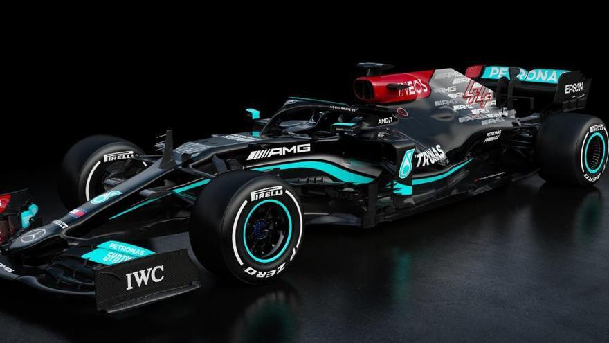 Mercedes presenta el monoplaza con el que Hamilton buscará su octavo mundial