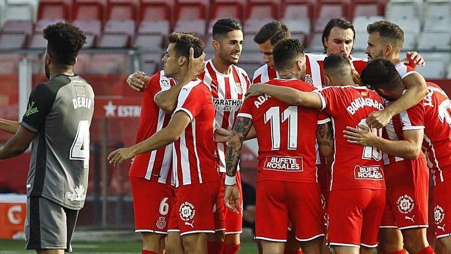 Stuani, Ignasi Miquel, Riesgo i Juanpe són intocables en aquest retorn a la competició