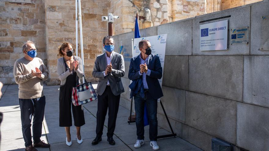 La FRAH renueva su centro de información Europe Direct en Zamora