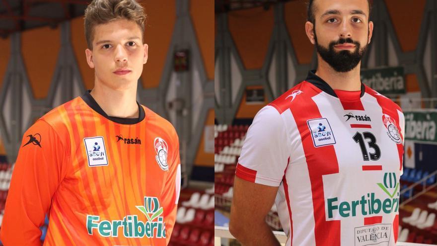 Óscar Camacho y Dani Martínez renuevan contrato con el Fertiberia Puerto Sagunto