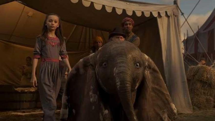 'Dumbo' cuenta en su reparto con dos españoles