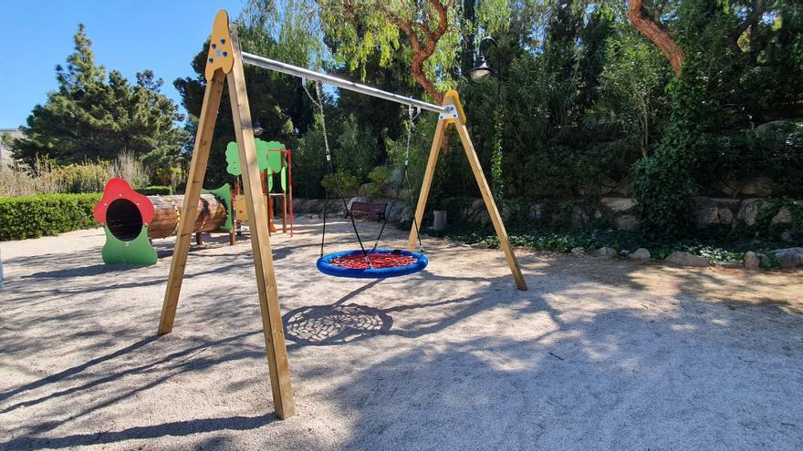 Xixona realiza mejoras en los parques y jardines  y prevé aumentar las zonas verdes