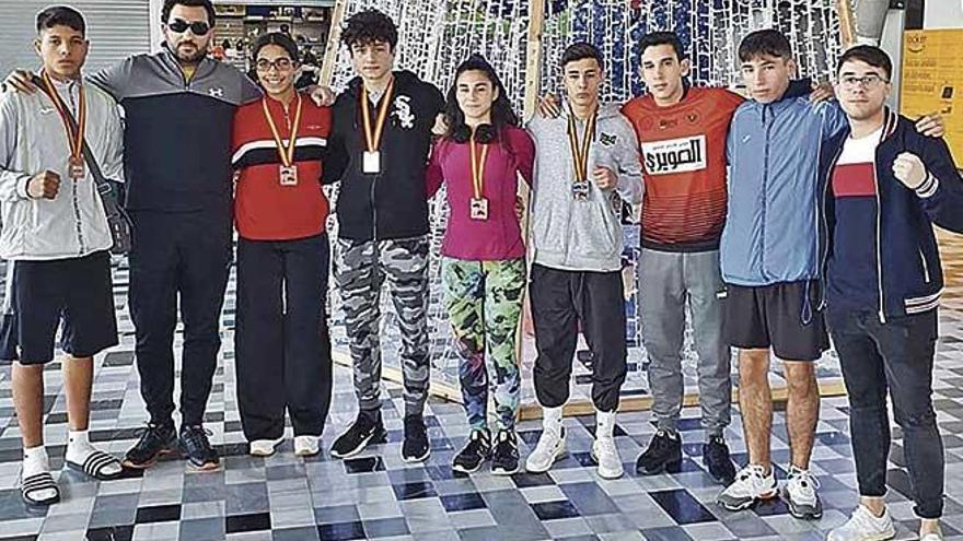 Los púgiles de Balears consiguen cinco medallas en el Nacional Junior y Joven