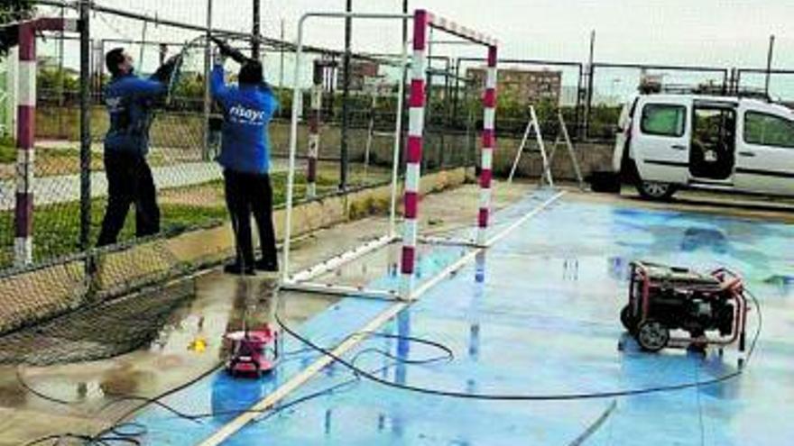 Bonrepòs i Mirambell pone a punto sus instalaciones deportivas con 22.000 euros