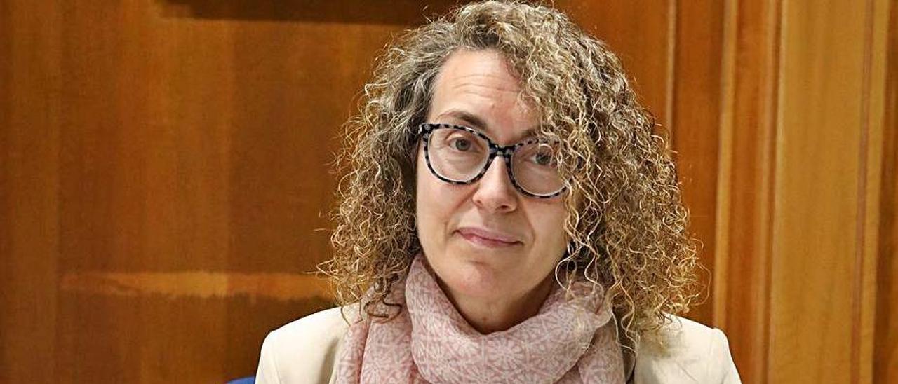 Cristina Fernández Davila, en su despacho.