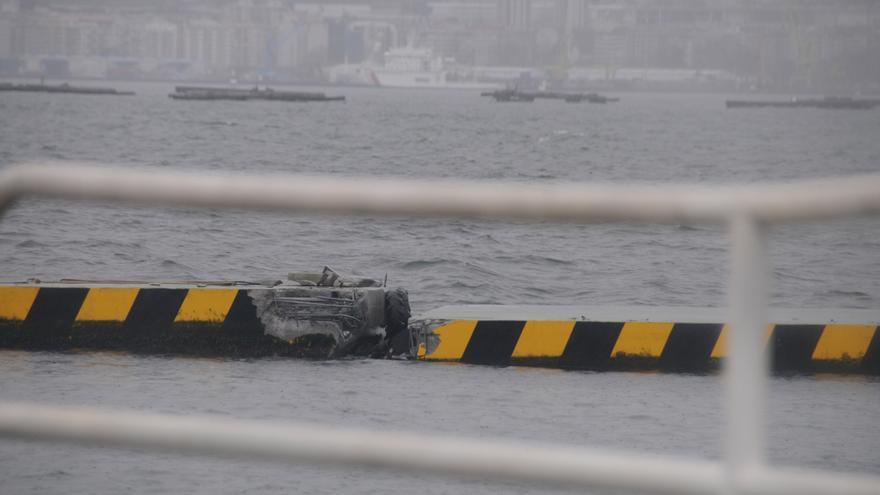 Portos inicia hoy el arreglo del dique de A Mosqueira tras los destrozos de los temporales