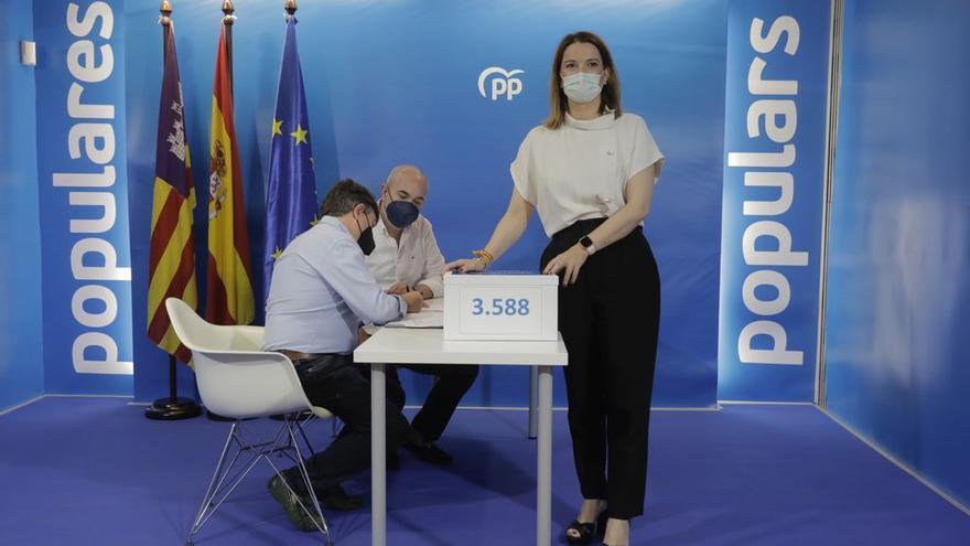 Prohens presenta más avales que la suma de Company y Bauzá en el anterior congreso del PP