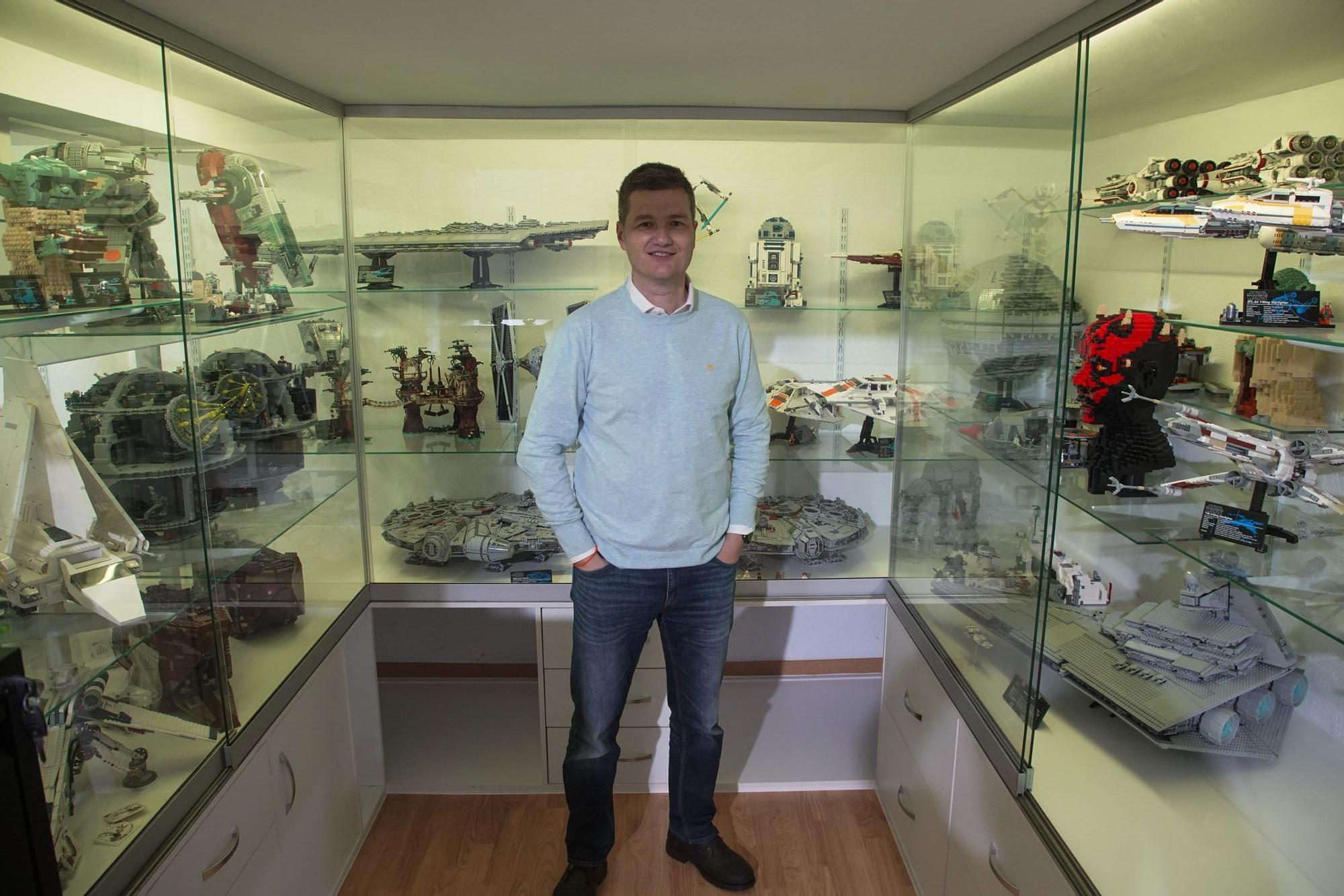 Así es el impresionante universo Lego del coleccionista zamorano Rafael López