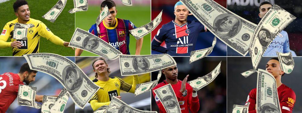 Los jugadores más valiosos del mundo