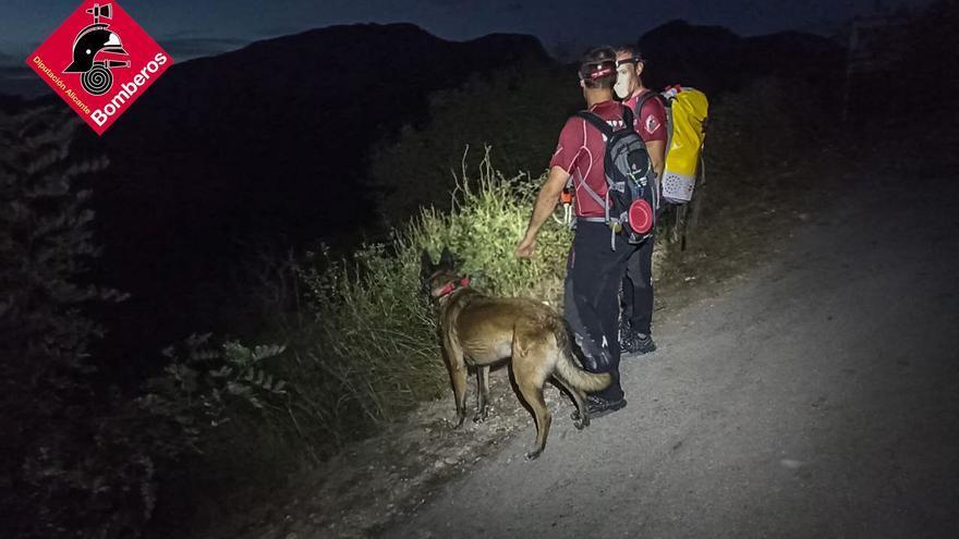 Reanudan la búsqueda en el Barranc de l'Infern del desaparecido de 38 años