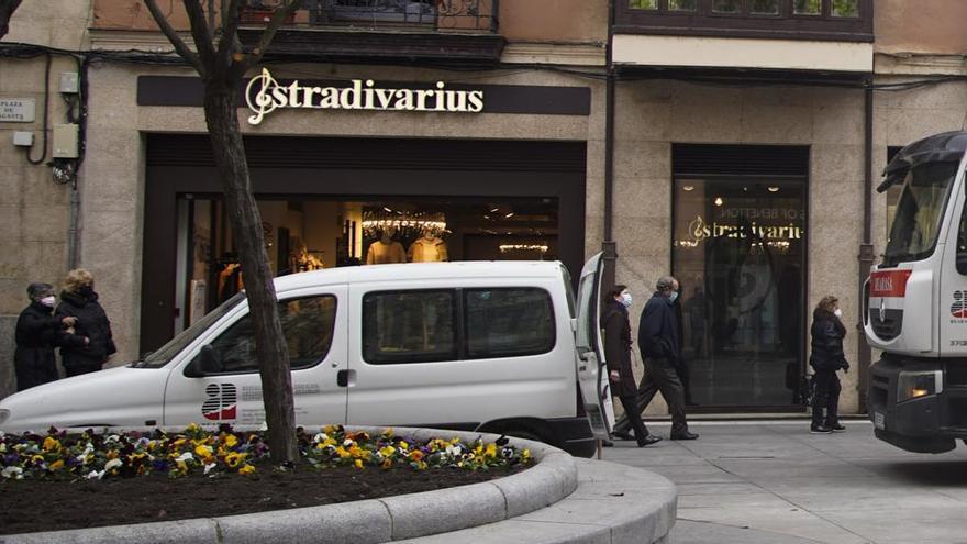 Stradivarius también cierra en Zamora