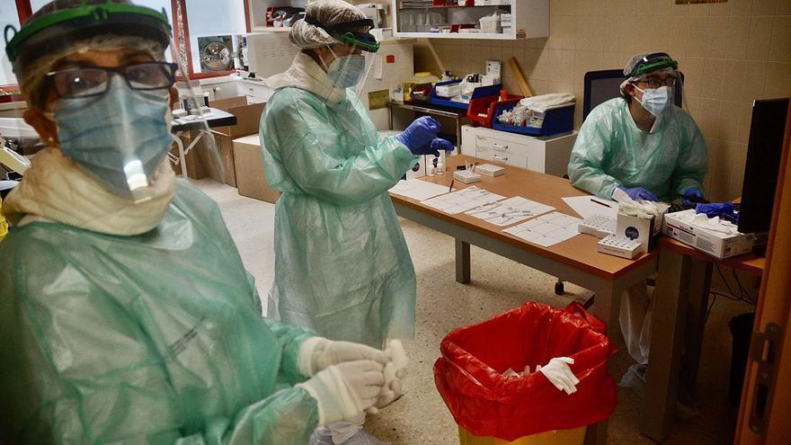 5.265 contagios y 66 fallecidos, el saldo del COVID desde Navidad en el área sanitaria