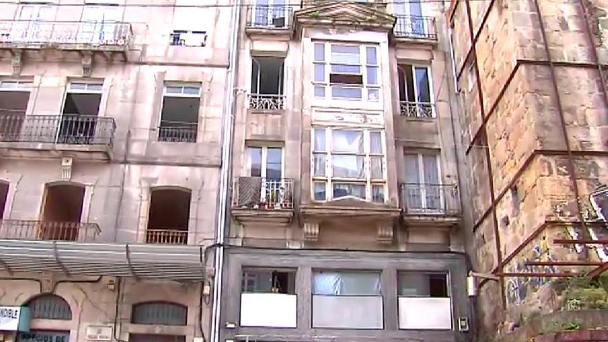 Ocupado un edificio entero en Vigo que pertenece a una fundación