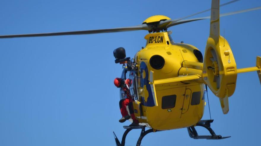 Nuevo rescate en Picos: Auxilian en helicóptero a una senderista de 71 años que hacía la ruta Poncebos-Bulnes