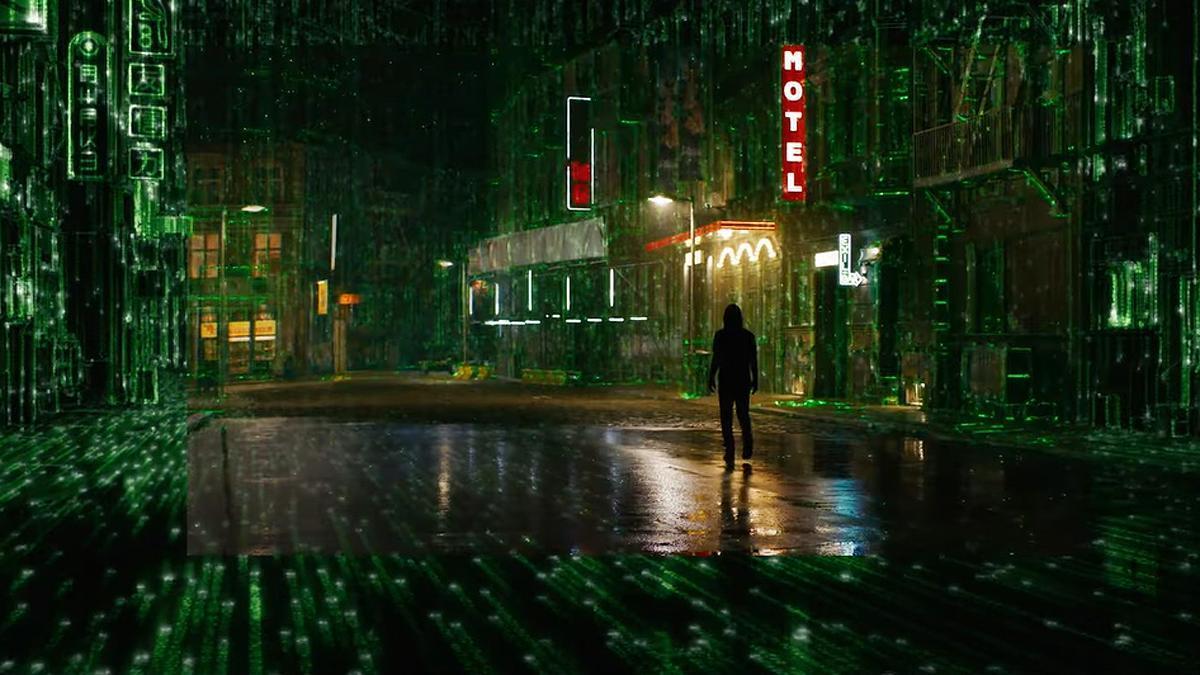 Una imagen de 'Matrix 4 Resurrections'.
