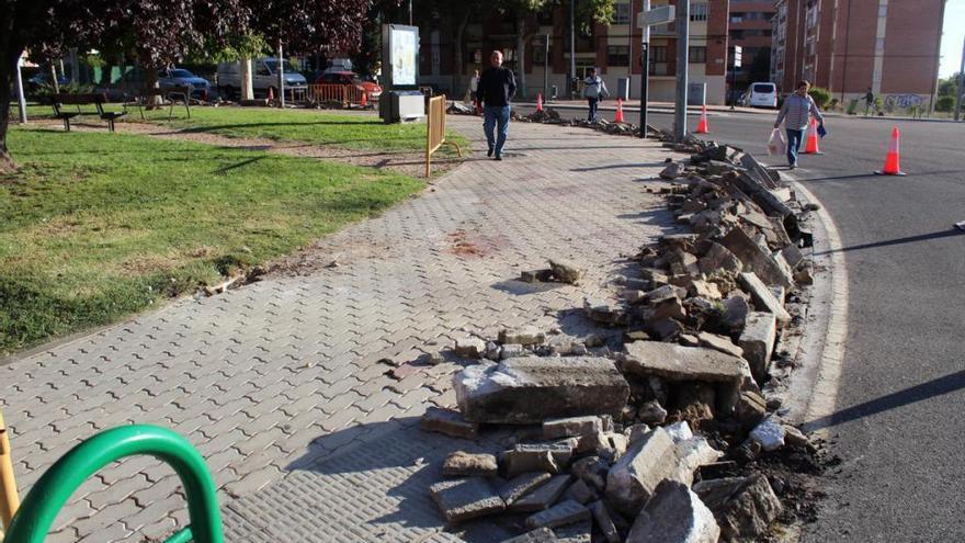 El Ayuntamiento de Zamora destina 895.000 euros a renovar aceras