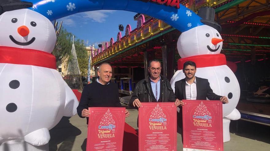 La Viñuela contará con una veintena de atracciones y actividades en Navidad para dinamizar las compras