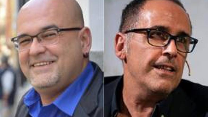 Ciclo Canarios que hablan de Galdós Alexis Ravelo y José Luis Correa
