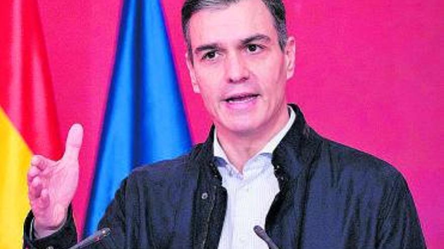 """Pedro Sánchez pide anteponer """"la precaución sanitaria a otros propósitos"""" en estas Navidades"""