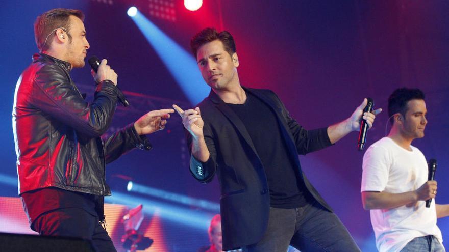 Bustamante y Tenorio participarán en gala navideña de 'OT'