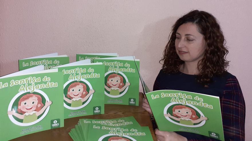 Primer libro infantil de Alejandra Fríes Rubio