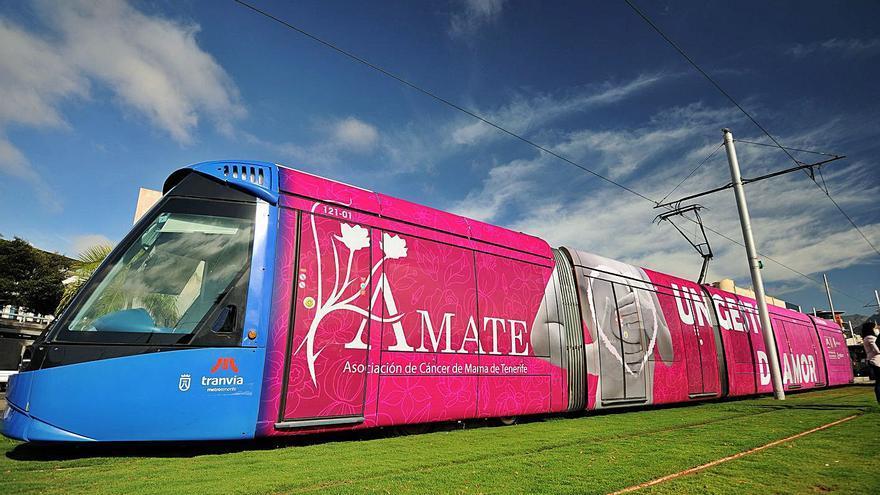 El tranvía de Tenerife cumple 14 años y suma más de 185 millones de pasajeros