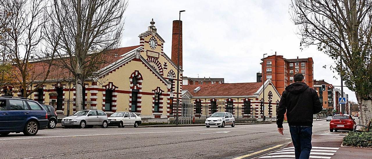 El centro de empresas La Curtidora de Avilés.