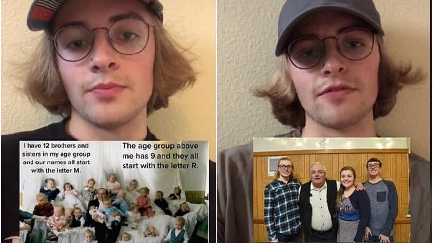 El método de un joven para recordar los nombres de sus 150 hermanos