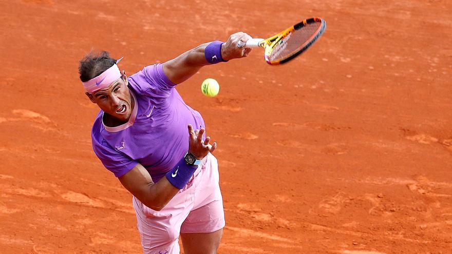Nadal se mide a Rublev en semifinales